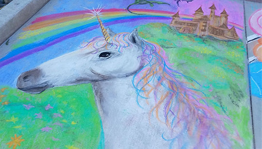 Chalk-The-Block-Unicorn